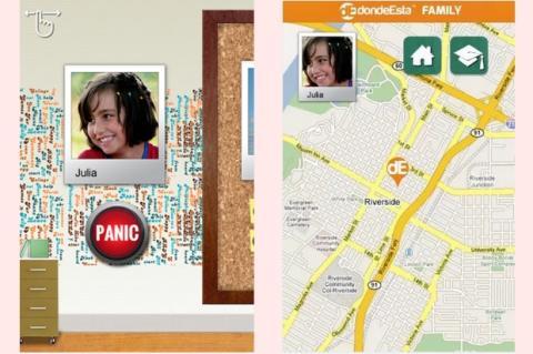 dondeEsta Family te permite saber dónde están tus hijos u otros familiares, por medio del GPS
