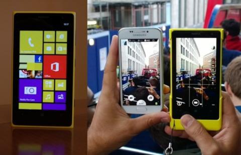 Nokia Lumia 1020. Pantalla.