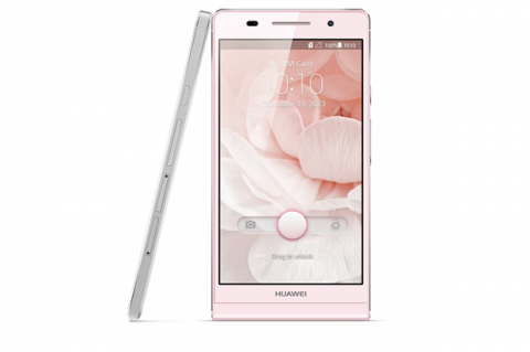 Huawei Ascen P6 en color rosa en exclusiva con Orange