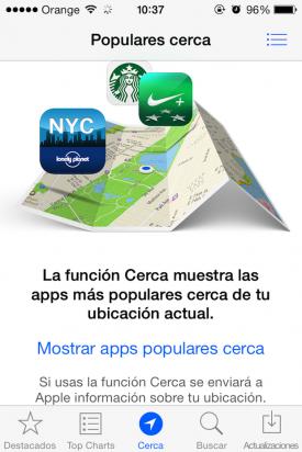 Novedades App store