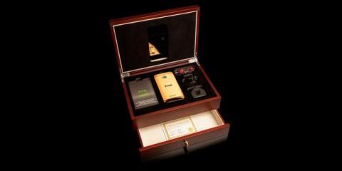 Paquete de lujo HTC One oro
