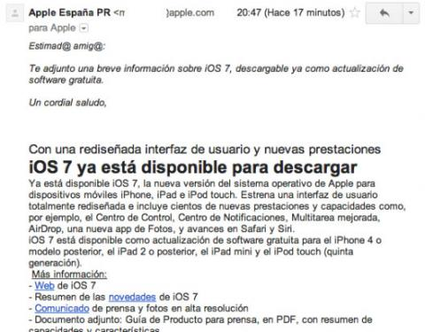 nota prensa apple