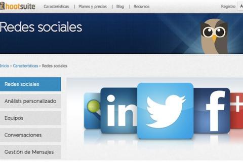 Programa actualizaciones en las redes sociales con HootSuite