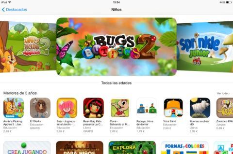Categoria infantil iOS 7