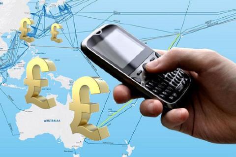 Inglesa gasta 20.000 libras en roaming
