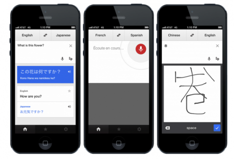 Google Translate para iOS 7