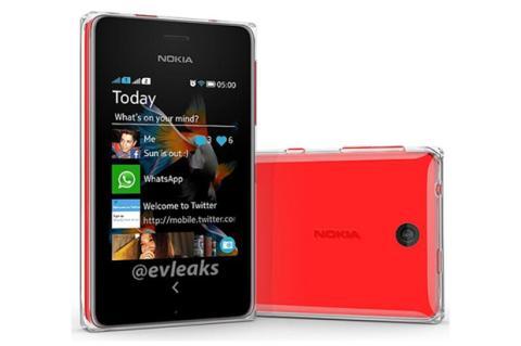 Nokia Asha 500, primeras imágenes filtradas