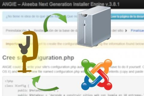 Sube tu sitio Joomla local al servidor web usando un backup
