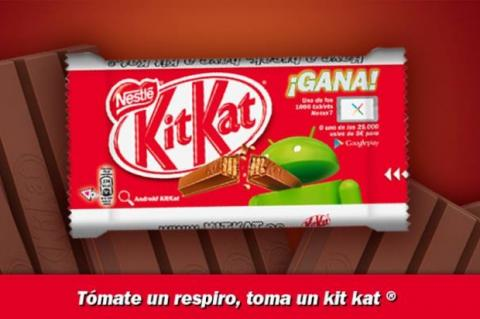 Android 4.4 KitKat, a principios de octubre, con Nexus 5