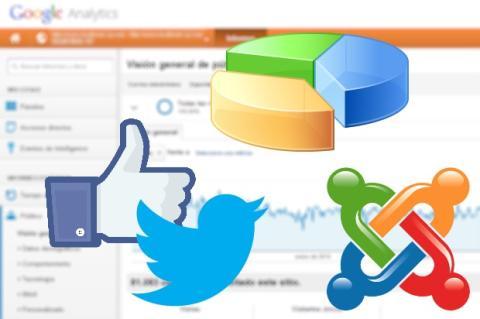 Sigue las estadísticas y socializa tu web basada en Joomla