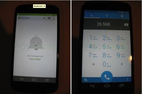 Supuestas imágenes de la nueva interfaz de Android KitKat