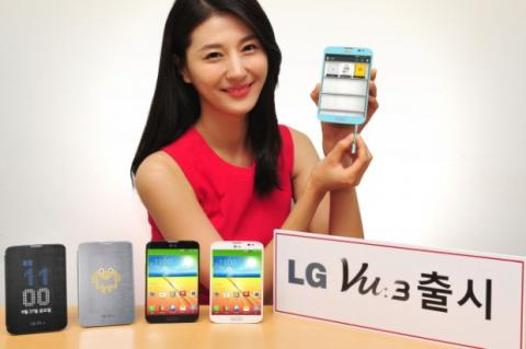 LG Vu 3, el smartphone con pantalla 4:3, es oficial