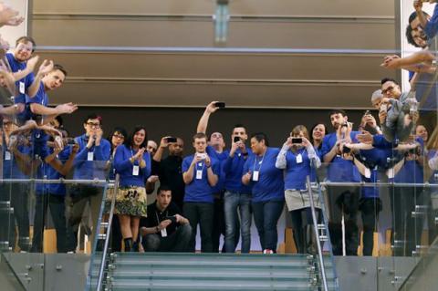 Apple vende más de 9 millones de iPhone 5S y iPhone 5C