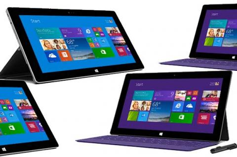 Surface 2 y Surface pro 2