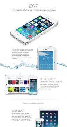 Falso anuncio iOS 7