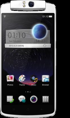 Diseño Oppo N1