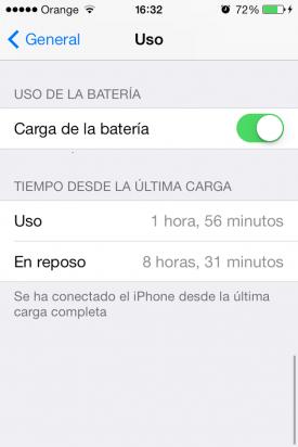 ajustes iOS 7