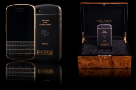 BlackBerry Q10 oro