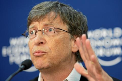 Bill Gates, co-fundador de Microsoft