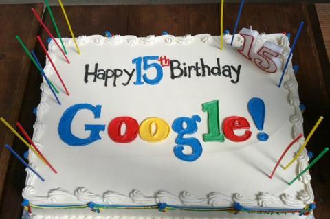 15 Cumpleaños google