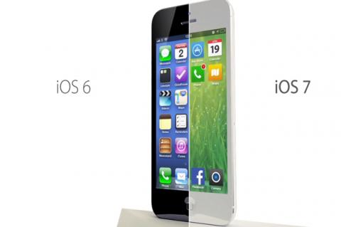 iOS 7 se actualiza automáticamente en dispositivos Apple