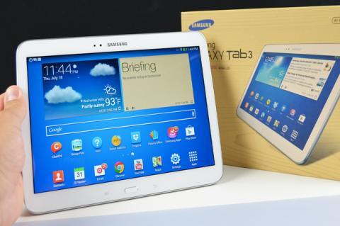 Samsung Galaxy Tab 3 10.1, a la venta el 10 de Octubre