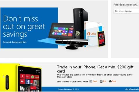 Microsoft te paga 200 dólares por tu iPhone