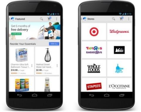 Google lanza apps de Google Shopping Express