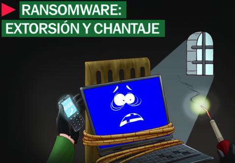 Ransomware, extorsión y chantaje