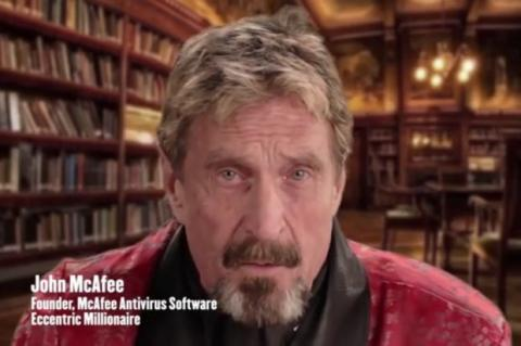 John McAfee anuncia gadget que bloqueará a la NSA