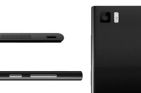 Diseño Xiaomi Mi3