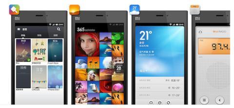 OS Xiaomi Mi3