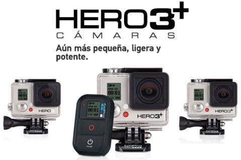 GoPro presenta la Hero3+: mejores cámaras para deportistas