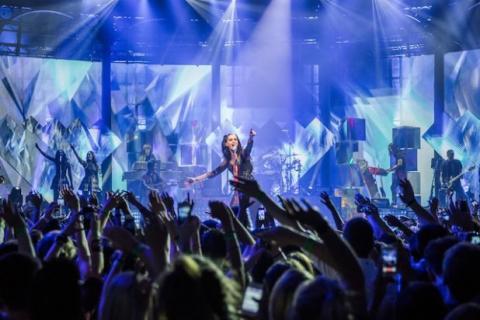 Katy Perry en concierto en el iTunes Festival 2013