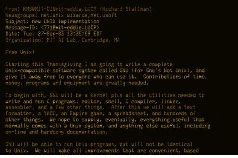Email Richard Stallman