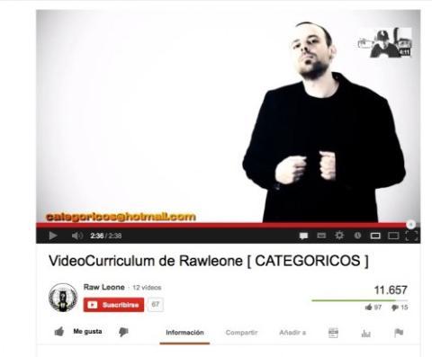 Estructura tu vídeo currículum