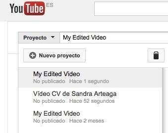 Edita tu vídeo currículum en YouTube