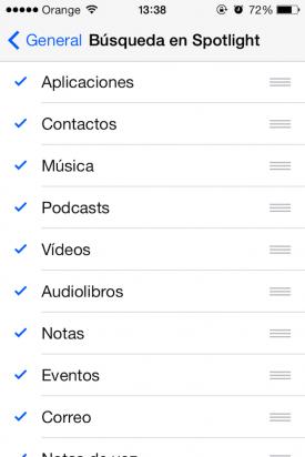 Spotligtth iOS7