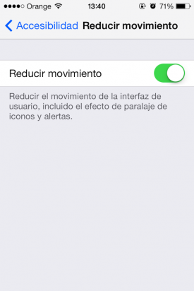 Fondos parallax iOS 7