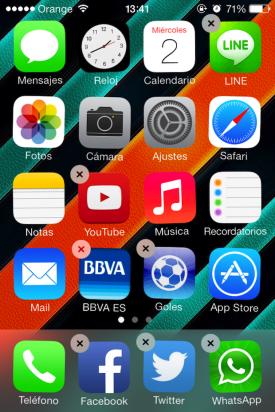 aplicaciones iOS 7