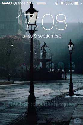 bloqueo iOS 7