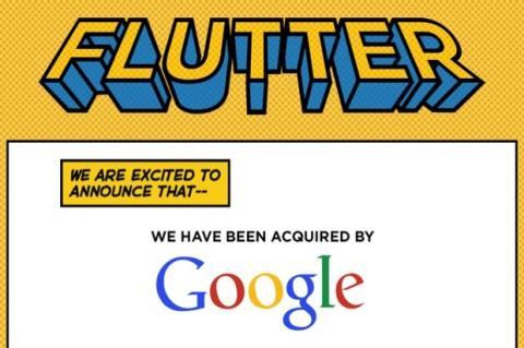 Google invierte en tecnología de reconocimiento de gestos, compra Flutter