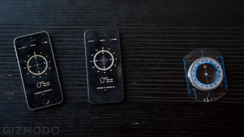 Brújula iPhone 5S