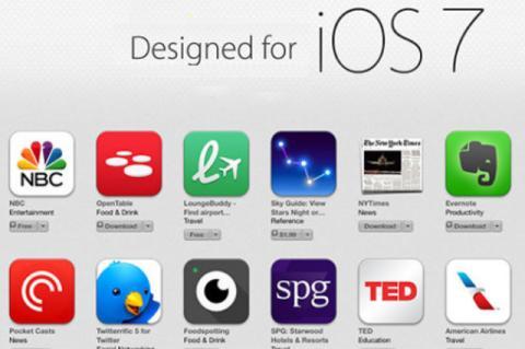 Apps iOS 7