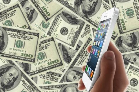 El precio de venta de un iphone 5S y 5C es entre cuatro y seis veces mayor que su coste de fabricación