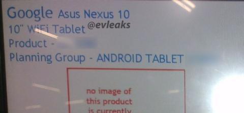 Google Asus Nexus 10