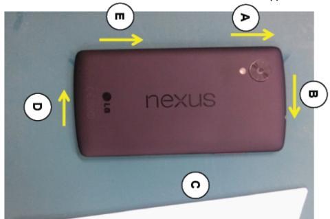 Nexus 5 especificaciones oficiales y fotos gracias al manual de servicio filtrado