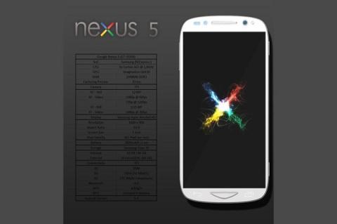 """Google presentaría un Nexus 5 """"Maxx"""" con batería ampliada"""