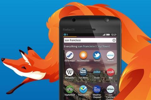 Firefox OS 1.1, ahora actualizado con notificaciones push