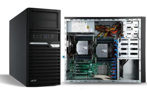 Acer introduce estaciones de trabajo serie Veriton P
